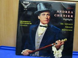 LP024 -ANDREA CHENIER - DEL MONACO-TEBALDI-BASTIANINI - Opera