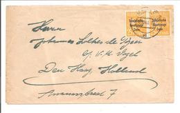 Sowjetische Besatzungs Zone Mi 191 MeF Paar.Berlin 12.10.48>Holland - Zone Soviétique