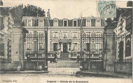 ORGEVAL - Entrée De La Bruneterie - Orgeval