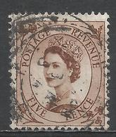 Great Britain 1956. Scott #324 (U) Queen Elizabeth II * - Oblitérés