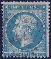 N°22 Oblitéré Lettres Bâtons HS4, Pas  Courant, TB - 1862 Napoleone III