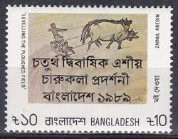 Bangladesch Bangladesh 1989 Kunst Arts Kultur Culture Kunstausstellung Exhibition, Mi. 298 ** - Bangladesch