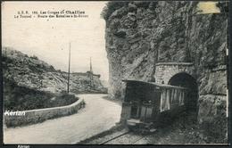 Les Gorges De Chailles - Le Tunnel Route Des Echelles à St-Béron - G.E.B. 168 - Voir 2 Scans - Frankrijk