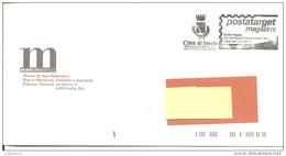 ITALIA - 2004 Comune Di IMOLA (BO) Medaglia Oro V.m. Per Attività Partigiana - Affranc. Mecc. Timbro Nero POSTATARGET - Seconda Guerra Mondiale
