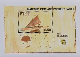 Fiji  Maritime Heritage S/S - Fiji (1970-...)
