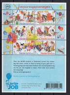 Nederland 2018 Nvph Nr 3614 - 3619, Mi Nr 3682 - 3687 , Verjaardagspostzegels Van Stichting Jarige Job. - Period 2013-... (Willem-Alexander)