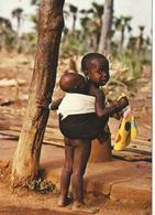 BURKINA FASO WOLOKONTO Si Petite Et Déjà Responsable D'un Lourd Fardeau CPM TBE - Burkina Faso