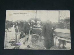 COURRIERES  / ARDT LENS  1910  OBSEQUES MINEURS   /  CIRC /  EDITION - Autres Communes