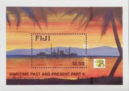 Fiji  Maritime Heritage S/S 1999 - Fiji (1970-...)