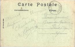 France Carte De Charleville Affranchie Avec Cachet Sans Date D'expédition RARE ! - Autres
