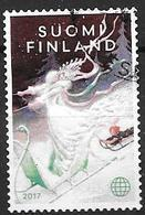 Finlande 2017 N° 2514 Oblitéré, Noël Reine Des Neiges - Finnland