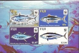 Fiji  2004 Worldwide Fund For Nature S/S - Fiji (1970-...)