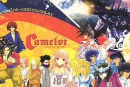 CAMELOT COMICS STORE COMIQUERIA ANIME 2005 ARGENTINA POSTAL PUBLICIDAD - LILHU - Winkels