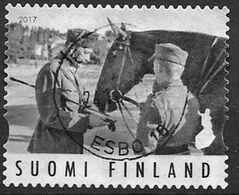 Finlande 2017 Timbre Oblitéré Maréchal Mannerheim - Finnland