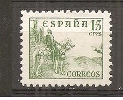 España/Spain-(MNH/**) - Edifil 819 - Yvert 580 - 1931-50 Nuevos & Fijasellos