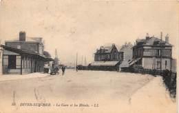 DIVES SUR MER - La Gare Et Les Hôtels - Dives