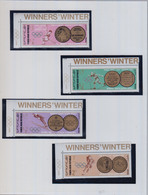 YEMEN ARAB REPUBLIC 1968  Winter Olympic Games      N° 761 / 766   +  BF  74A    COTE       19 € 00 - Yémen