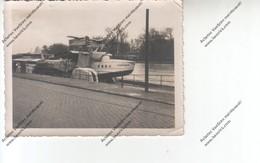 Photo Ancienne D'un Hydravion DORNIER D1967 Sur Seine (exposé Au 12eme Salon Aviation Grand Palais 1930 ?) - Aviation