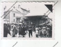 Photo Originale SEMUR (21) - Centre Ville - Fête De La Bague 1949 - Photos