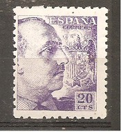 España/Spain-(MNH/**) - Edifil 922 - Yvert 680 - 1931-50 Nuevos & Fijasellos