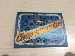 Ancienne Étiquette BIÈRE SILVA CHAMPIGNEULLES BRASSERIE MEURTHE-ET-MOSELLE - Bière