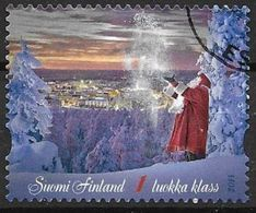 Finlande 2014 N° 2326 Oblitéré Magie De Noël - Finnland