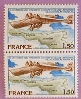 "FRANCE ANNEE 1978 2 X PA 51 NEUFS**  ""LIAISON POSTALE AERIENNE"" - Poste Aérienne"