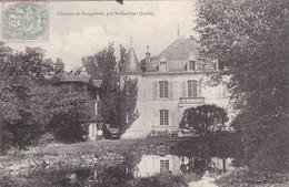 Postcard Chateau De Longefont Par St Gaultier Indre My Ref  B12727 - France