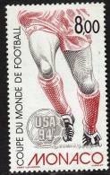 MONACO    N°  1940  * *      Cup 1994  Football  Soccer Fussball - 1994 – Stati Uniti