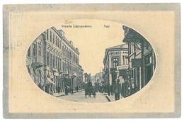RO 05 - 15109 IASI, Lapusneanu Street, Romania - Old Postcard - Used - 1911 - Rumania