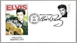 Music Icons: ELVIS PRESLEY. Hollywood CA 2015 - Elvis Presley