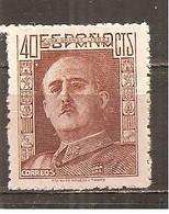 España/Spain-(MNH/**) - Edifil 953 - Yvert 711 - 1931-50 Neufs