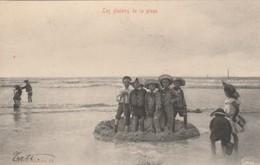 Les Plaisirs De La Plage (Edit : V.G. N°53),Blankenberge ,Koksijde,De Haan ,De Panne,Oostende,Nieuport,Wenduine - België