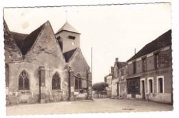 CPSM - 89 - VILLEFRANCHE SAINT PHAL - L' église - Café Restaurant - 1952 - Autres Communes