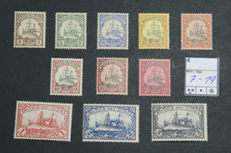 DNG Mich. Nr. 7 - 19 Postfrisch - Colonia: Nuova Guinea