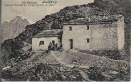 VALMALENCO CAPANNA MARINELLI NEL GRUPPO BERNINA 1907 ANIMATA - Sondrio