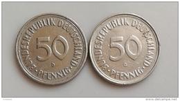 ALLEMAGNE 50  Pfennig 1950 G 1950 D  N°556D - [ 2] 1871-1918: Deutsches Kaiserreich
