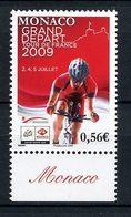 MONACO 2009 N° 2697 ** Neuf MNH  Superbe Sports Cyclisme Tour De France Coureur - Nuevos