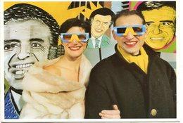 MARCOS LOPEZ EXPOSICION SERIE POP LATINO ARTE CONTEMPORANEO 2001 ARGENTINA POSTAL PUBLICIDAD - LILHU - Artiesten