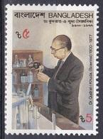 Bangladesch Bangladesh 1988 Persönlichkeiten Wissenschaft Science Forschung Dr. Qudrat-e-Khuda, Mi. 292 ** - Bangladesch
