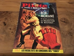 170/ PILOTE LEJOURNAL D ASTERIX ET OBELIX N° 386 1967 BD REPORTAGE CINEMA ECT BOB MORANE - Pilote