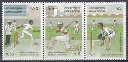 Bangladesch Bangladesh 1988 Sport Spiele Ballspiele Kricket-Asia-Cup Cricket, Mi. 289-1 ** - Bangladesch