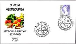 DIETA MEDITERRANEA - Mediterranean Diet. Novoli, Lecce, 2011 - Alimentación