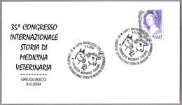 35 Congreso Int. HISTORIA DE LA MEDICINA VETERINARIA - History Of Veterinary Medicine. Grugliasco, Torino, 2004 - Salud