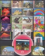 UNO WIEN Jahrgang 2002, Postfrisch **, MNH, (ohne Heftchenmarken) 351-372, 379-Block 16 - Wien - Internationales Zentrum