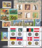UNO WIEN Jahrgang 2006, Postfrisch **, MNH, (ohne Heftchenmarken) 455-468, 475-484 - Wien - Internationales Zentrum