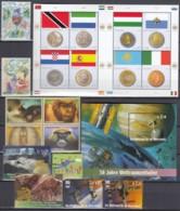 UNO WIEN Jahrgang 2007, Postfrisch **, MNH, (ohne Heftchen- Und Grußmarken) 485-496, 502-505, 512, 518-Block 21 - Wien - Internationales Zentrum