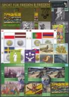 UNO WIEN Jahrgang 2008, Postfrisch **, MNH, (ohne Heftchen- Und Grußmarken) 521-537, 543-549, Block 23-24 - Wien - Internationales Zentrum