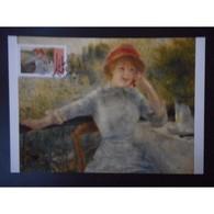 Carte Premier Jour - Oeuvre D'Auguste Renoir - Oblit 27/4/13 Paris - 2010-...