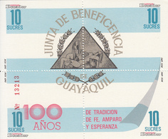 1988 Ecuador Social Services  Souvenir Sheet MNH - Ecuador